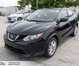 2019 NISSAN QASHQAI 2.00 S AWD NEW TIRES HEATED SEATS BACK UP CAM BLIND SPO