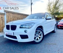 USED 2012 BMW X1 XDRIVE20D M SPORT NOT SPECIFIED 118,000 MILES IN WHITE FOR SALE | CARSITE