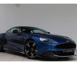 ASTON MARTIN VANQUISH V12 [595] S 2+2 TOUCHTRONIC GRAPHICS PACK 5935.0 AUTOMATIC 2 DOOR CO