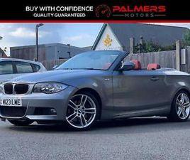 2010 BMW 1 SERIES 123D M SPORT 2DR CONVERTIBLE DIESEL MANUAL