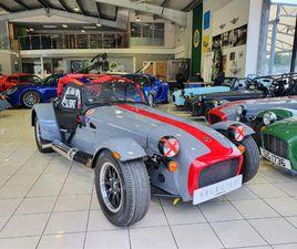 CATERHAM ACADEMY FACTORY BUILT CAR (NEVER RACED)