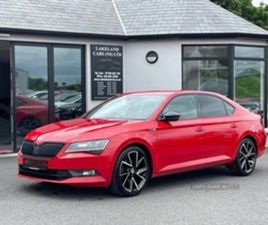 USED 2017 SKODA SUPERB SPORTLINE TDI S-A SALOON 72,000 MILES IN RED FOR SALE | CARSITE
