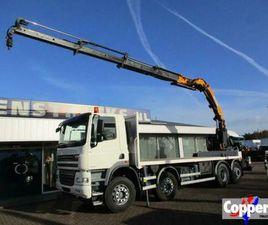 DAF CF 85.460 8X2 KRAAN EURO 5 (BJ 2012)