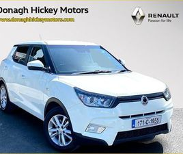 SSANGYONG TIVOLI 4X2 ES CROSSOVER 5DR FOR SALE IN KERRY FOR €14,900 ON DONEDEAL