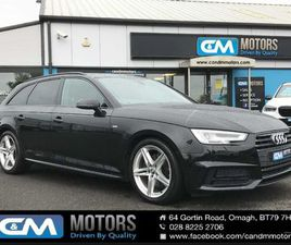 AUDI A4 AVANT 2.0 TDI S LINE 5DR(JUST IN FROM ENG) FOR SALE IN TYRONE FOR £15,245 ON DONED