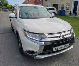 JUNE 2017 MITSUBISHI OUTLANDER 4X4 2.2 DIESEL FSH FOR SALE IN DOWN FOR £13,995 ON DONEDEAL