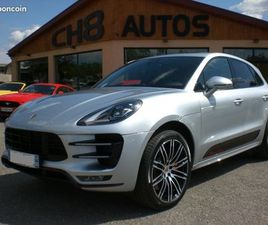 PORSCHE MACAN TURBO PACK PERFORMANCE 440CH DIN MALUS INCLUS JANTES 21'' BOSE PACK CARBONE