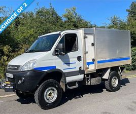 IVECO DAILY 3.0 55S17W 170 BHP MANUAL 4X4 HIGH SIDE TIPPER (IDEAL TREE SURGEON)