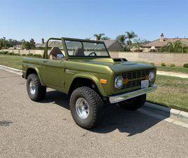 FOR SALE: 1974 FORD BRONCO IN ESCONDIDO , CALIFORNIA