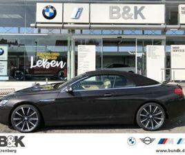 BMW 640I XDRIVE CABRIO INDIVIDUAL,ST-HEIZ,S HUD NAVI
