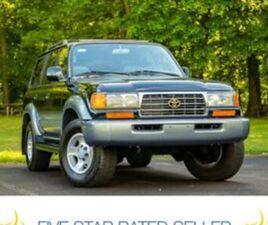 1996 TOYOTA LAND CRUISER DIFF LOCKERS LOCK 142K MI 1 OWNER FLORIDA CARFAX FJ80