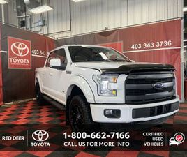 2016 FORD F-150 LARIAT WITH CUSTOM RIMS AND RUBBER! | CARS & TRUCKS | RED DEER | KIJIJI