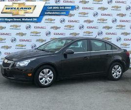 2013 CHEVROLET CRUZE LT TURBO - SOLD AS IS, UNFIT, TRADE-IN - ONSTAR   CARS & TRUCKS   ST.