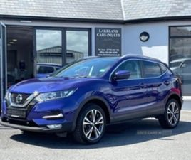 USED 2019 NISSAN QASHQAI N-CONNECTA DCI MPV 34,000 MILES IN BLUE FOR SALE   CARSITE