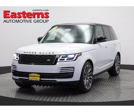 USED 2019 LAND ROVER RANGE ROVER