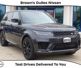 USED 2018 LAND ROVER RANGE ROVER SPORT SUPERCHARGED