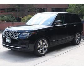 CERTIFIED 2018 LAND ROVER RANGE ROVER HSE