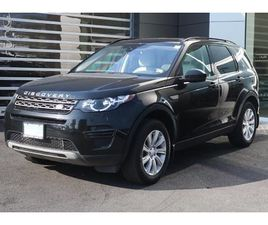 USED 2017 LAND ROVER DISCOVERY SPORT SE
