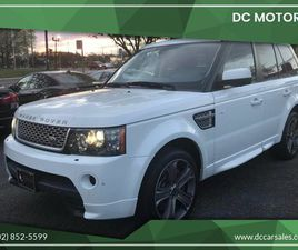 USED 2013 LAND ROVER RANGE ROVER SPORT AUTOBIOGRAPHY