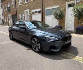 BMW M6 GRAN COUPE 4.4 V8 GRAN COUPE DCT (S/S) 4DR