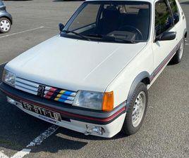 PEUGEOT 205 GTI 1,6 L 105 CV - 1985