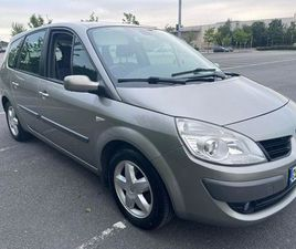 RENAULT GRAND SCENIC 1.6 LTR 7 SEATER 08 FOR SALE IN LIMERICK FOR €1,950 ON DONEDEAL