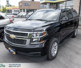 2019 CHEVROLET SUBURBAN 5.30 LS WITH LEATHER AWD CARPLAY BACK UP CAM CRUISE CON