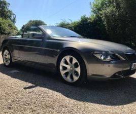 630I SE AUTO CONVERTIBLE...LOW MILES...ONLY 88000K MILES