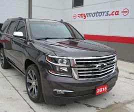 USED 2016 CHEVROLET TAHOE LTZ WITH BLUERAY DVD PLAYER