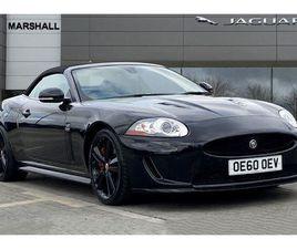 2011 JAGUAR XKR 5.0 S/C CONVERTIBLE AUTO - £33,980