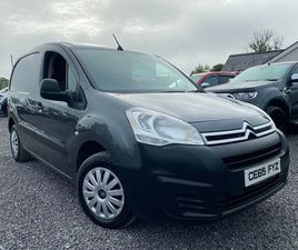 15 CITROEN BERLINGO 1,6HDI 3 SEATER NO VAT FOR SALE IN TYRONE FOR £5,995 ON DONEDEAL