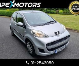 PEUGEOT 107 FINANCE 29E / WEEK . 1.0 5DR HATCH SA FOR SALE IN MEATH FOR €4,449 ON DONEDEAL