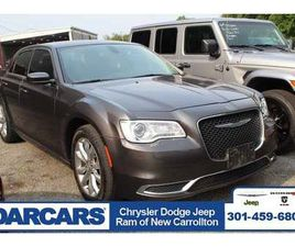 GRAY COLOR 2018 CHRYSLER 300 TOURING FOR SALE IN NEW CARROLLTON, MD 20784. VIN IS 2C3CCARG