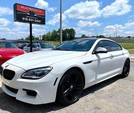 2016 BMW 6 SERIES 640I GRAN COUPE