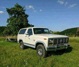 FORD BRONCO XLT 1985 5,8 L
