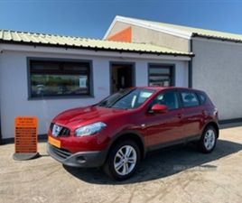 USED 2013 NISSAN QASHQAI ACENTA MPV 67,533 MILES IN RED FOR SALE   CARSITE