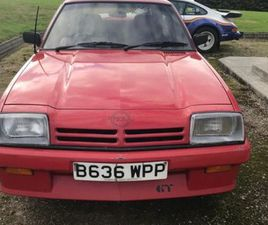 OPEL MANTA 1.8 FOR SALE IN DONEGAL FOR €4,850 ON DONEDEAL