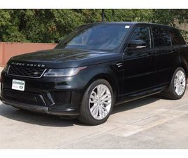 USED 2019 LAND ROVER RANGE ROVER SPORT HSE