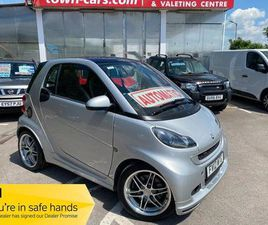 SMART FORTWO BRABUS XCLUSIVE 26657 MILES 1 OWNER SERVICE HISTORY PAN ROOF SAT