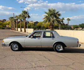 FOR SALE AT AUCTION: 1984 CHEVROLET CAPRICE IN RENO, NEVADA