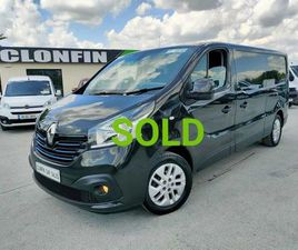 2018 RENAULT TRAFIC SPORT MODEL LWB 125BHP FOR SALE IN LONGFORD FOR €UNDEFINED ON DONEDEAL