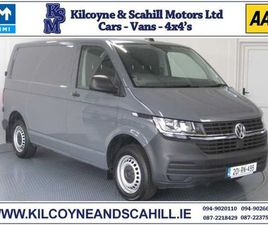2020 VOLKSWAGEN TRANSPORTER 2.0 TDI SWB 5 SPEED FOR SALE IN MAYO FOR €21,951 ON DONEDEAL