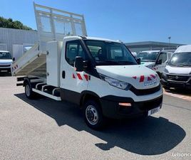 IVECO DAILY / 35-130 / BENNE COFFRE / 35C13 / 2017 / 130 CH /