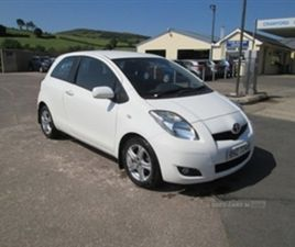 USED 2010 TOYOTA YARIS TR D-4D HATCHBACK 158,000 MILES IN WHITE FOR SALE | CARSITE