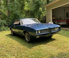 FOR SALE: 1969 PONTIAC GTO IN SHELBY TOWNSHIP, MICHIGAN