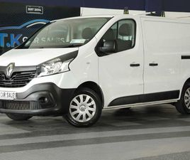 18 RENAULT TRAFIC SL27 BUSINESS EDITION FOR SALE IN GALWAY FOR €13,800 ON DONEDEAL