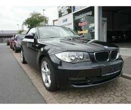 BMW BAUREIHE 1 CABRIO 118I LEDER KLIMAAUTOMATIK