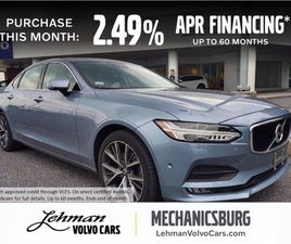 BLUE COLOR 2018 VOLVO S90 T5 MOMENTUM FOR SALE IN MECHANICSBURG, PA 17050. VIN IS LVY982MK