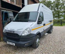 2013 (63) IVECO DAILY 70C17 LWB EXTRA HI ROOF 7T VAN WARRANTIED LOW MILEAGE FSH