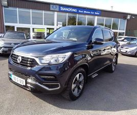 SSANGYONG REXTON G4 2 SEAT AUTOMATIC FOR SALE IN LAOIS FOR €29,750 ON DONEDEAL